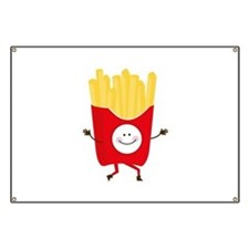 Happy Fries Banner