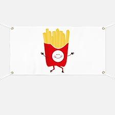 Happy Fries Banner