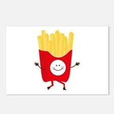 Happy Fries Postcards (Package of 8)