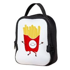 Happy Fries Neoprene Lunch Bag