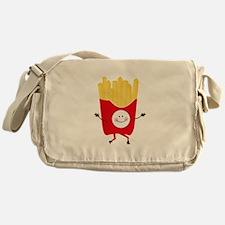 Happy Fries Messenger Bag