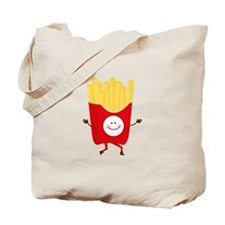 Happy Fries Tote Bag