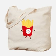 Happy Fries Tote Bag