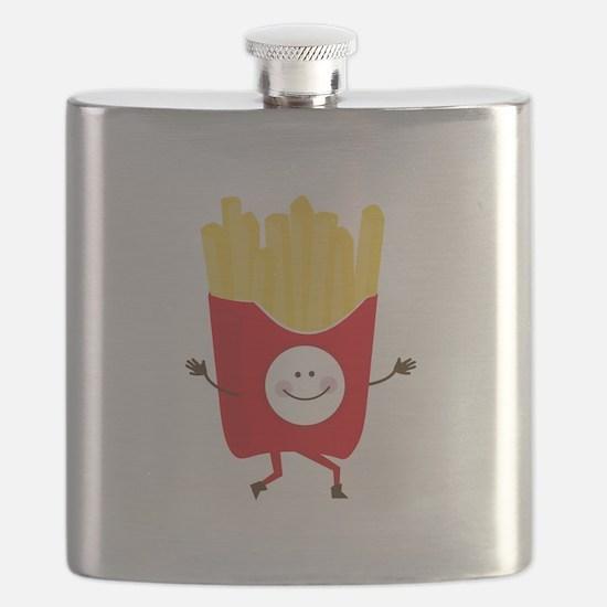 Happy Fries Flask