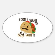 Funny Taco Decal
