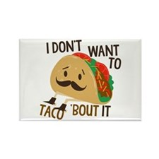 Funny Taco Magnets