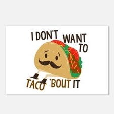 Funny Taco Postcards (Package of 8)