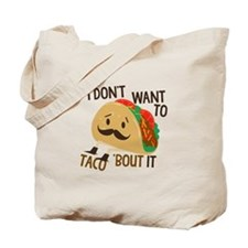 Funny Taco Tote Bag