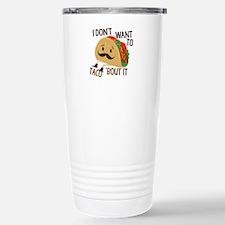 Funny Taco Travel Mug