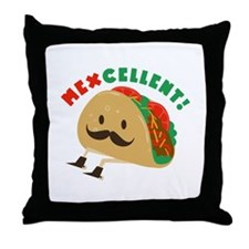 Mexcellent Throw Pillow