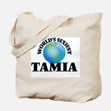 World's Sexiest Tamia Tote Bag