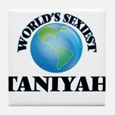World's Sexiest Taniyah Tile Coaster
