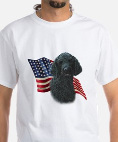 Poodle (Blk) Flag Shirt