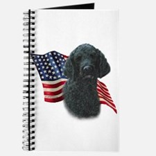 Poodle (Blk) Flag Journal