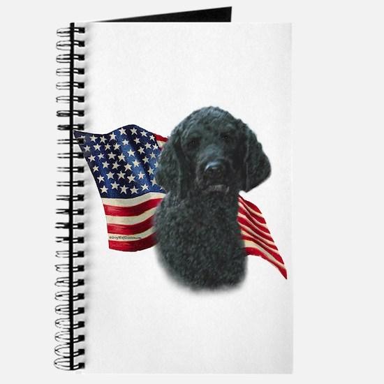 Poodle (Blk) Flag Journal