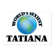 World's Sexiest Tatiana Postcards (Package of 8)