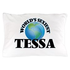 World's Sexiest Tessa Pillow Case