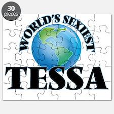World's Sexiest Tessa Puzzle