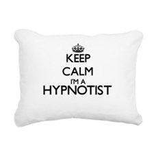 Keep calm I'm a Hypnotis Rectangular Canvas Pillow