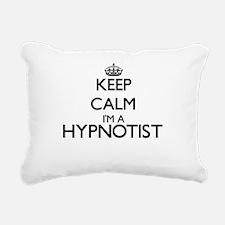 Keep calm I'm a Hypnotis Rectangular Canvas Pillow