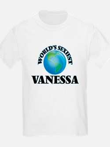 World's Sexiest Vanessa T-Shirt