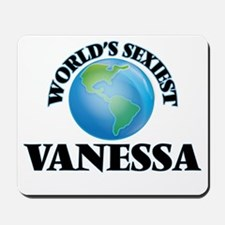World's Sexiest Vanessa Mousepad