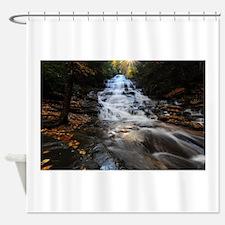 Roaring Water Shower Curtain