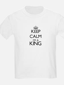 Keep calm I'm a King T-Shirt