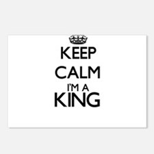 Keep calm I'm a King Postcards (Package of 8)