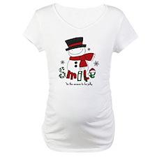 Smile Snowman Shirt