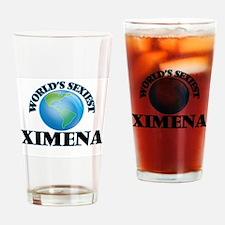 World's Sexiest Ximena Drinking Glass
