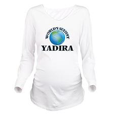 World's Sexiest Yadi Long Sleeve Maternity T-Shirt