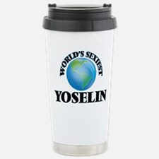 World's Sexiest Yoselin Stainless Steel Travel Mug