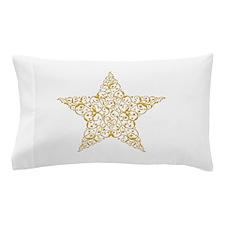 Beautiful Gold Star Pillow Case