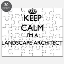 Keep calm I'm a Landscape Architect Puzzle