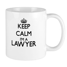 Keep calm I'm a Lawyer Mugs