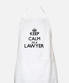 Keep calm I'm a Lawyer Apron