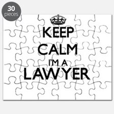 Keep calm I'm a Lawyer Puzzle