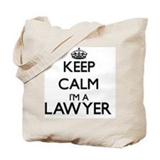 Keep calm I'm a Lawyer Tote Bag