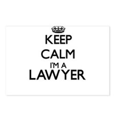 Keep calm I'm a Lawyer Postcards (Package of 8)