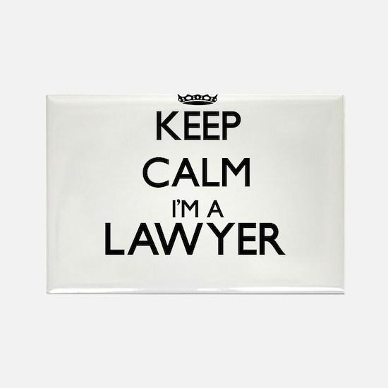 Keep calm I'm a Lawyer Magnets