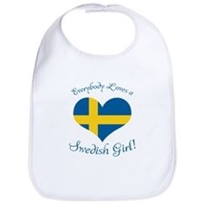 Cute Swedish american Bib
