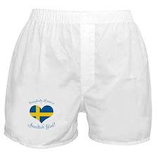Cute Swedish girls Boxer Shorts