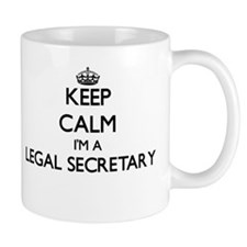 Keep calm I'm a Legal Secretary Mugs