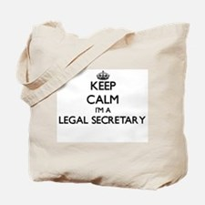 Keep calm I'm a Legal Secretary Tote Bag