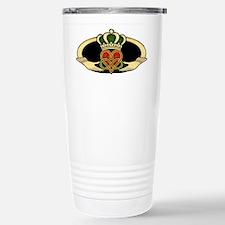 Poly Claddagh Medallion Travel Mug