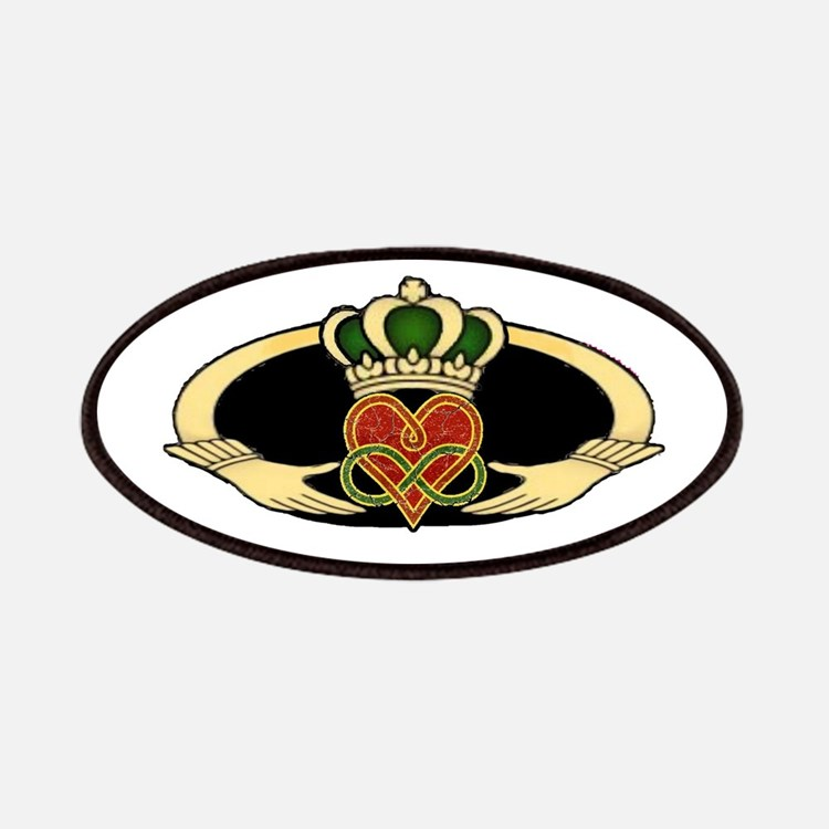 Poly Claddagh Medallion Patches