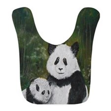 Panda Mania Bib