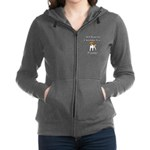 Christmas Puppy Women's Zip Hoodie