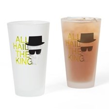 All Hail the King Drinking Glass